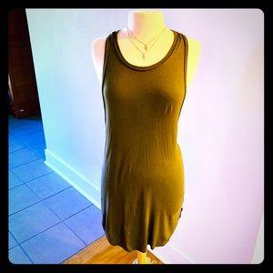 Leith Cotton Tank Dress Size S